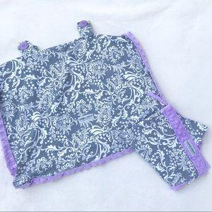 Original CARSEAT CANOPY & Baby Lap Blanket - Belle